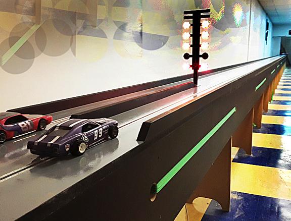 Beloit - custom slot car drag strip